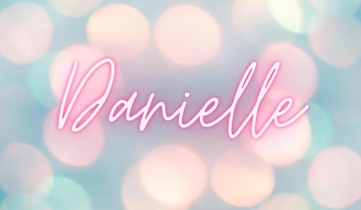 Danielle name text